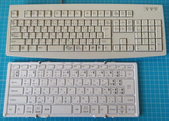05_日本語配列折りたたみ式Bluetoothキーボード「MOBO Keyboard(AM-KTF83J)」をレビュー